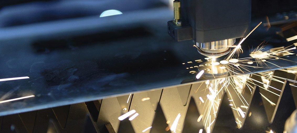 Blech-Laserschneiden