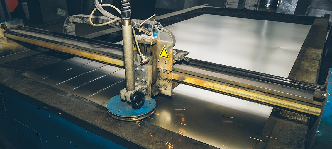 Produktion durch Laserschneiden